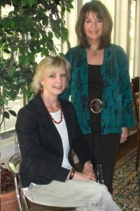 Beverly Tanis (L) and Virginia Flaherty (R), Owners - Operators of Timeless Décor Interior Decorating, Ridgewood NJ 07450 USA