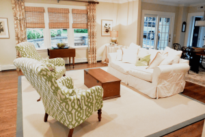 Interior Design & Home Staging professionals Virginia Flaherty and Beverly Tanis.