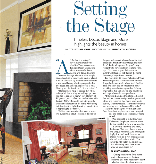 """Setting the Stage – Timeless Décor, and More highlights the beauty in homes"" – (201) HOME"