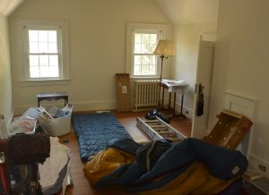Home Staging - you do not want buyers to see a room that looks like this.
