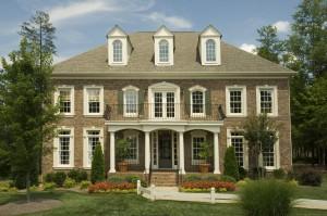 Brick Exterior Timeless Decor Interior Design Ridgewood NJ 07450 Bergen County