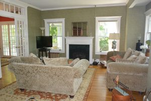 Before Photo Living Room Timeless Decor Home Staging Ridgewood NJ Bergen County
