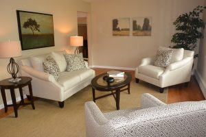 Living Room designed by Timeless Decor Interior Design Home Staging Ridgewood, NJ Bergen County NJ