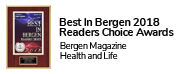 Best In Bergen 2018  Readers Choice Awards - Bergen Magazine  Health and Life