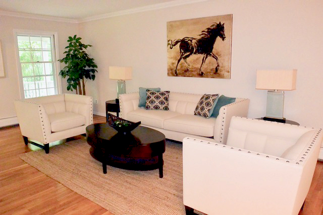 """Living Room """"After picture"""""""