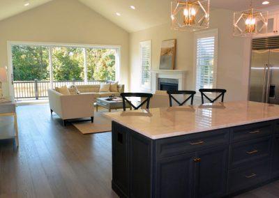 Kitchen-Family Room Design by Timeless Decor, Ridgewood, NJ